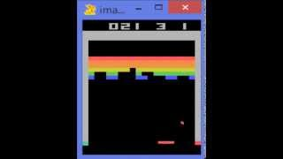 Google DeepMind's Deep Q-learning playing Atari Breakout