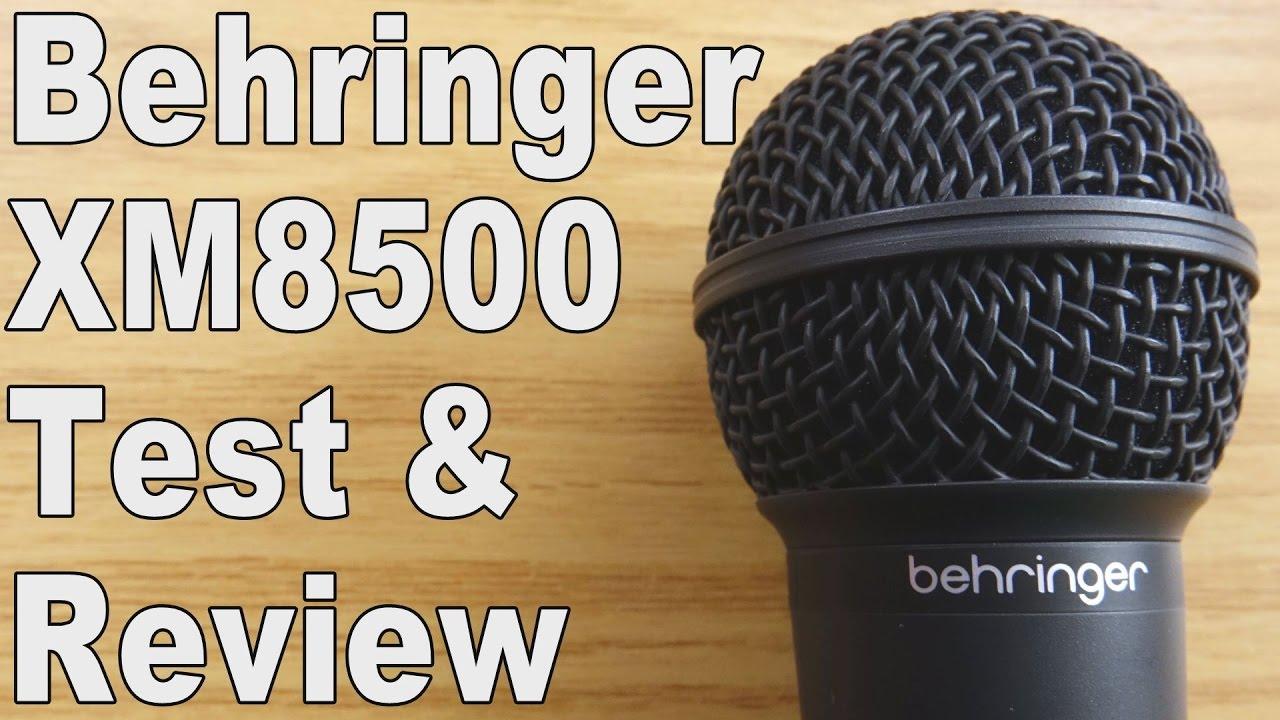 Behringer XM8500 for Ham Radio - AD5GG