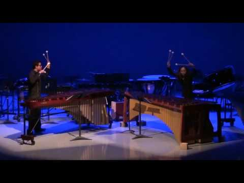 Marimba duo - Keiko Kotoku and Roberto Palomeque 2015