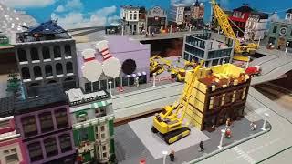 400sq feet Lego City Update - Modular Section