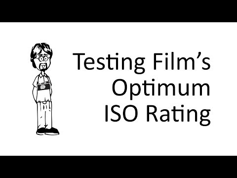 How to Test Optimum Film ISO