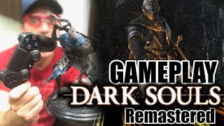 GAMEPLAY Dark Souls Remastered PS4 - PARTE 1