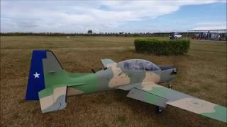 1/4 Scale Turbo Prop R/C Embraer EMB 312 Tucano Cespedes Father & Son Team