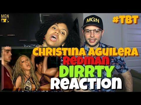 Christina Aguilera - Dirrty (Ft. Redman) | REACTION