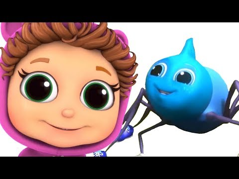 Itsy Bitsy Spider | Educational | Never Give Up | Nursery Rhymes | Singalong