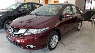 2018 HONDA CITY ASPIRE 1.5 PROSMATIC Complete review/ walk around/ start up in PAKISTAN