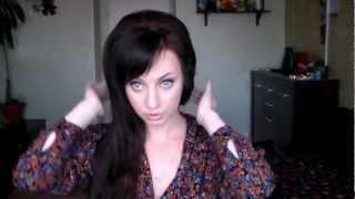 как сделать красивый начёс. видео