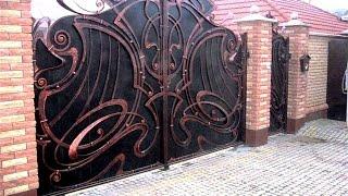 Кованые ворота, заборы, калитки(http://simulator.org.ua Кованые ворота, заборы, калитки Кованые заборы и ворота всегда имели большую популярность...., 2014-09-29T06:52:06.000Z)