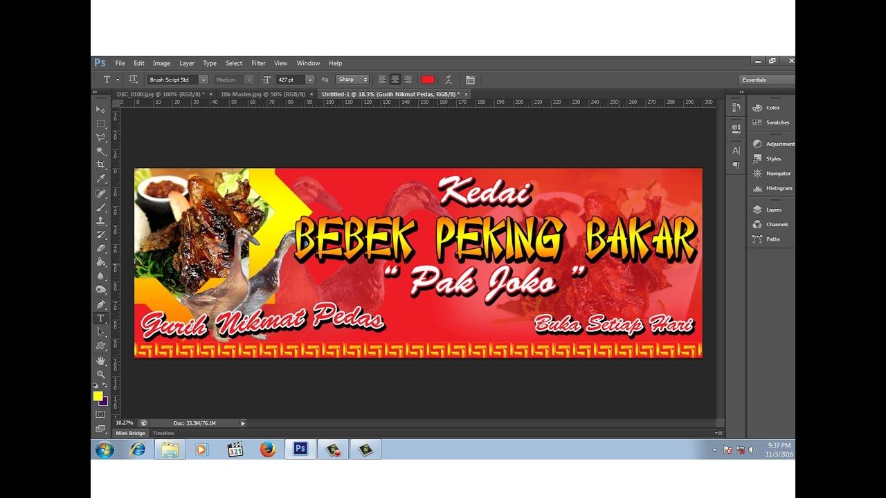 Spanduk Warung Kelontong Cdr - desain spanduk kreatif