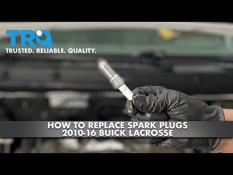 How To Replace Spark Plugs 2010-16 Buick Lacrosse