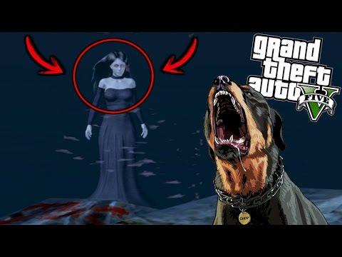 ¿Qué Pasa Si Llevas A Chop Con El Fantasma? - GTA 5