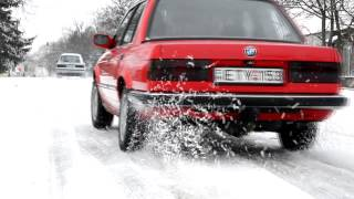 BMW E30 Fun Snow.