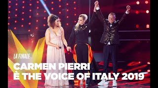 Carmen Pierri è The Voice of Italy 2019