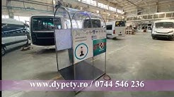 Tunel pentru dezinfecție construit de DYPETY
