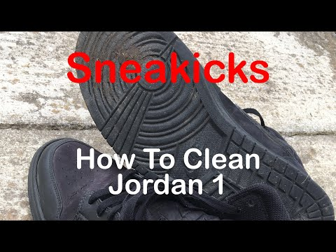 How To Clean Your Jordan 1's