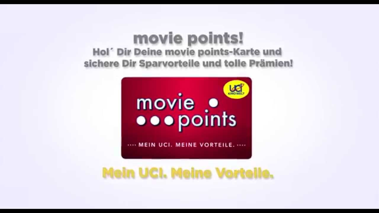 Uci movie points einlösen