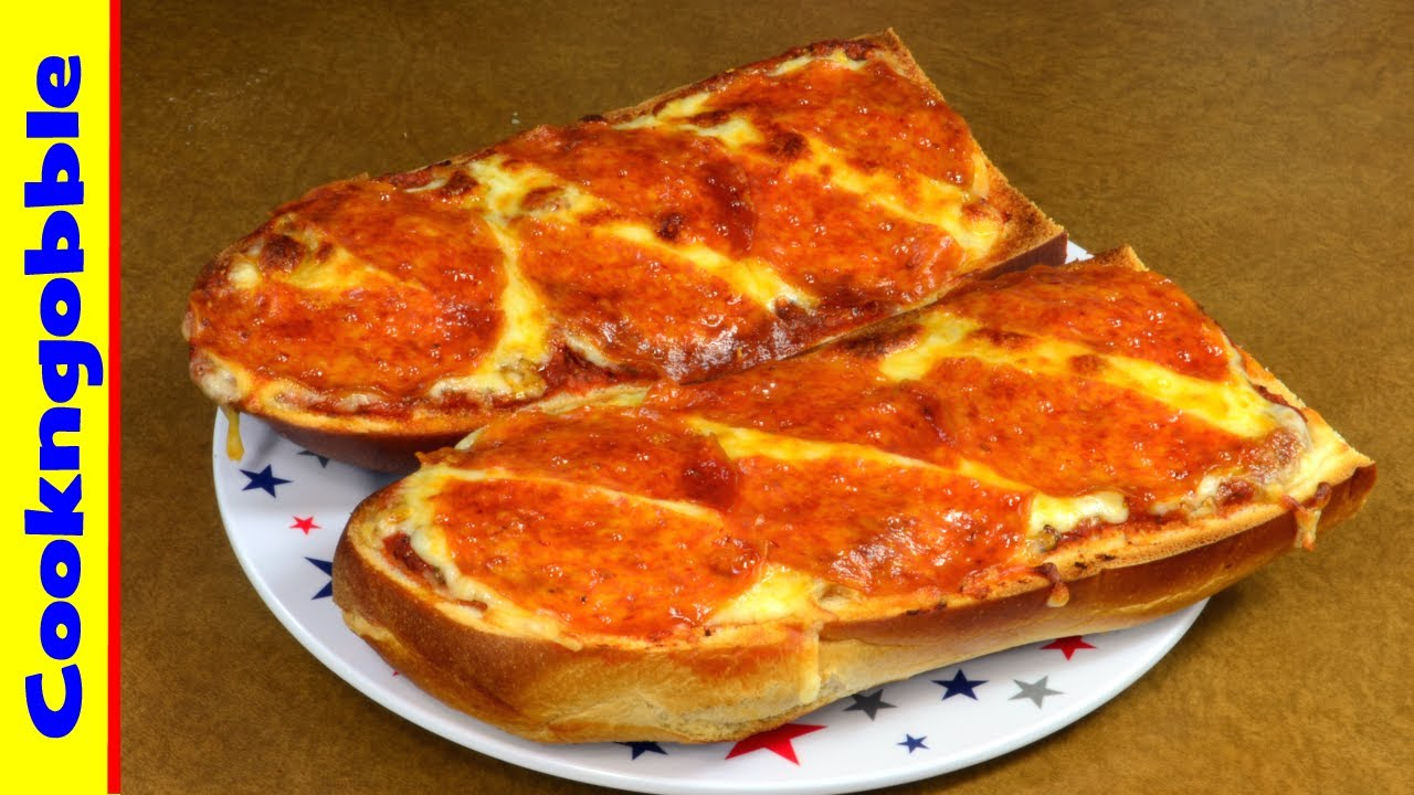 French bread pizza thats homemade try it today youtube french bread pizza thats homemade try it today solutioingenieria Choice Image