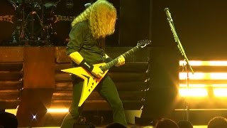 Megadeth performing live at The Pearl Theater inside The Palms Hote...