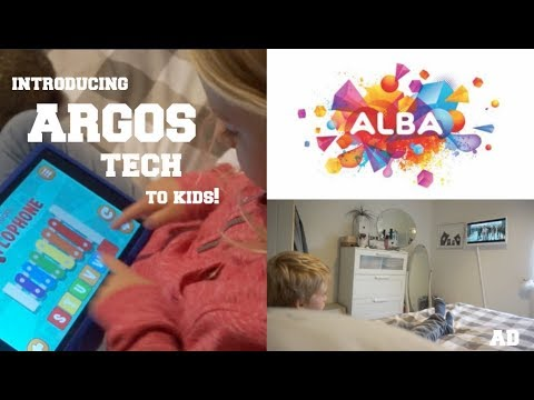 INTRODUCING TECH TO KIDS WITH ARGOS ALBA // AD