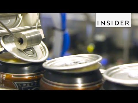 How Beer Cans Are Made