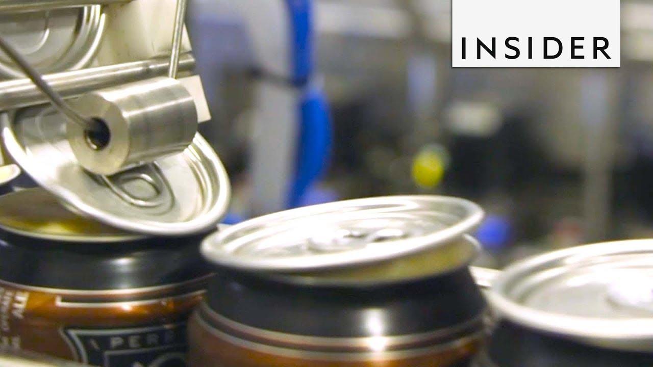 Како се произведуваат лименките за пиво?