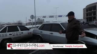 Ավտովթար՝ Նորագավիթի «գաի պոստի» մոտ  բախվել են Mercedes ն ու ВАЗ 21099 ը