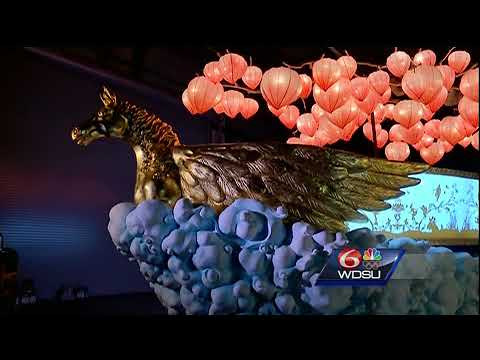 GODDESSY: Check out this incredible new float for the Muses parade