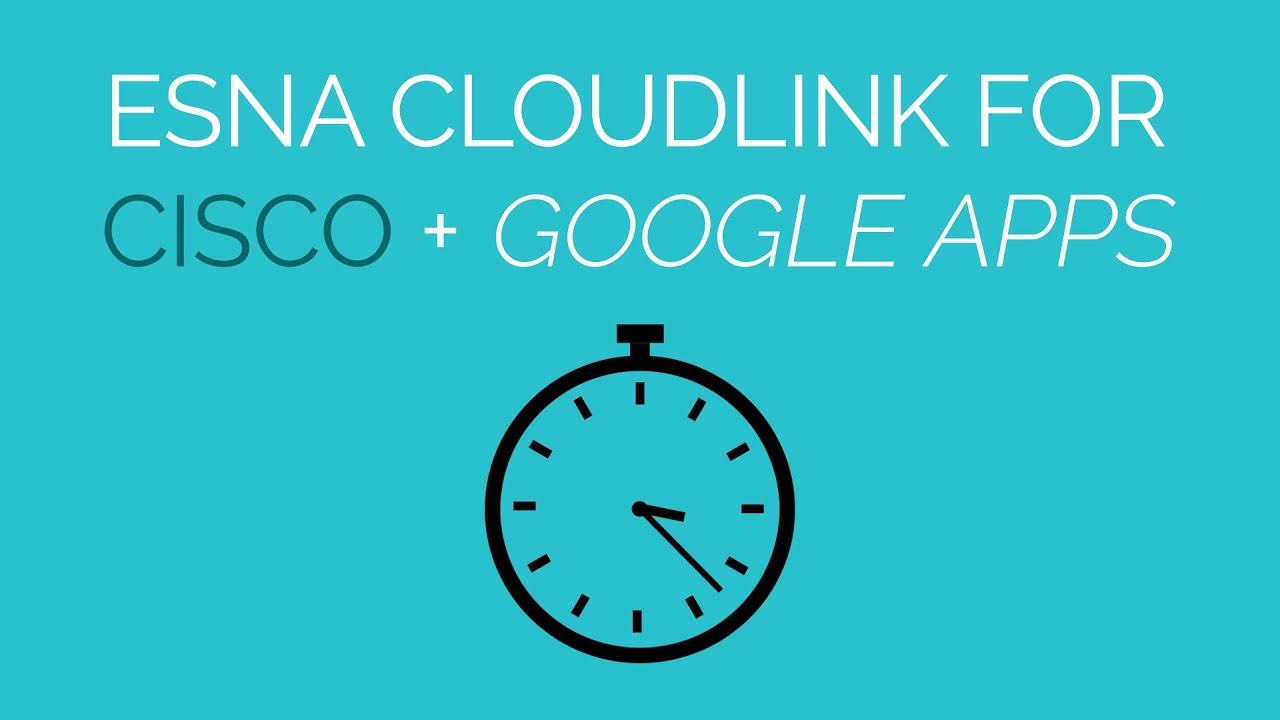 Embedded Cisco Collaboration Across Google Apps
