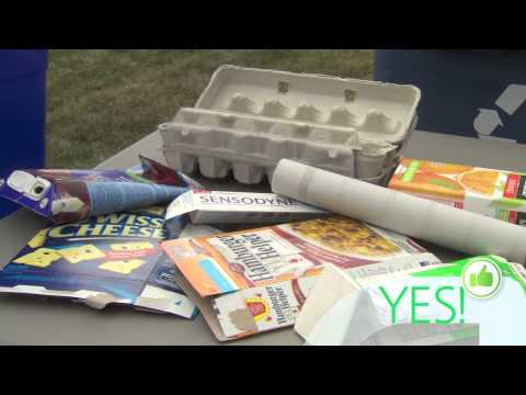 Items that Can and Cannot be Recycled
