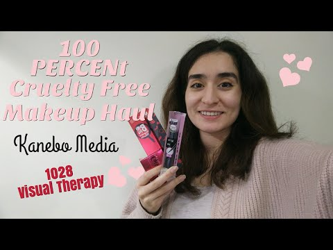 100% Cruelty Free Makeup Haul || Kanebo Media and 1028 Visual Therapy Brands