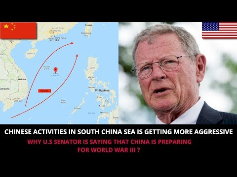 CHINESE ACTIVITIES IN SOUTH CHINA SEA COULD START A MAJOR CONFLICT
