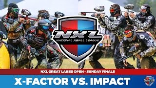 Intense Pro Paintball Finals - Edmonton Impact Vs. San Antonio Xfactor