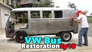 VW Bus Restoration - Episode 10! Not Selling The Bus! | MicBergsma