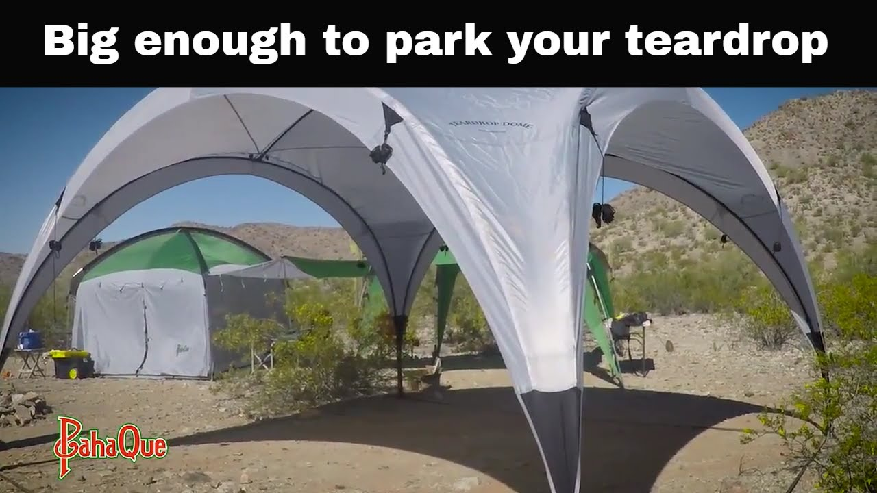 Giant Shade Tent the Teardrop Dome by PahaQue Setup video & Giant Shade Tent the Teardrop Dome by PahaQue: Setup video - YouTube