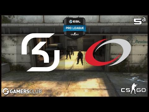 ESL Pro League S5 - SK Gaming vs. compLexity (Cache) - Narração PT-BR