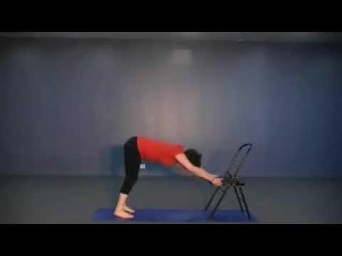 yoga chair sequence  yoga  beyond  youtube