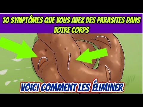 10 Symptômes Que Vous Avez Des Parasites Dans Votre Corps Et Comment Les éliminer