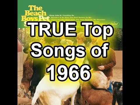 The TRUE Top 50 Songs of 1966 - Best Of List