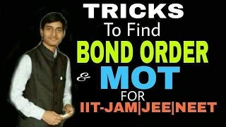 Molecular Orbital theory And bond order|| IIT_JAM_CHEMISTRY_||(CHEMICAL BONDING)(HINDI)