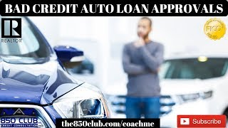 Bad Credit Auto Loan Approvals Near You - Application & Options - MyFICO,Budget,Business