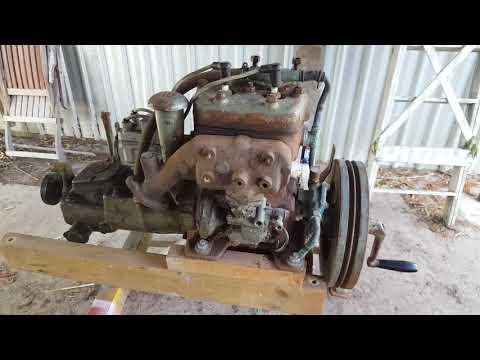 Albin o21 Marine Engine restoration part 1 Toorbul Queensland Aust.