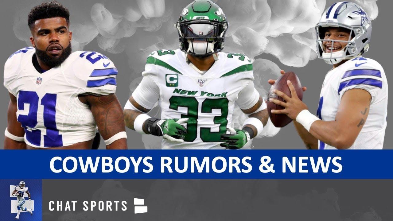 Cowboys News On Ezekiel Elliott & Jourdan Lewis + Rumors On Jamal Adams Trade, Dak Playing On Tag?