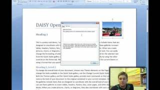 Open XML Accessibility and the DAISY Translator [2/2]