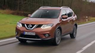 Nissan X-Trail 2.0-litre diesel - Driving Video in Copper Blaze | AutoMotoTV