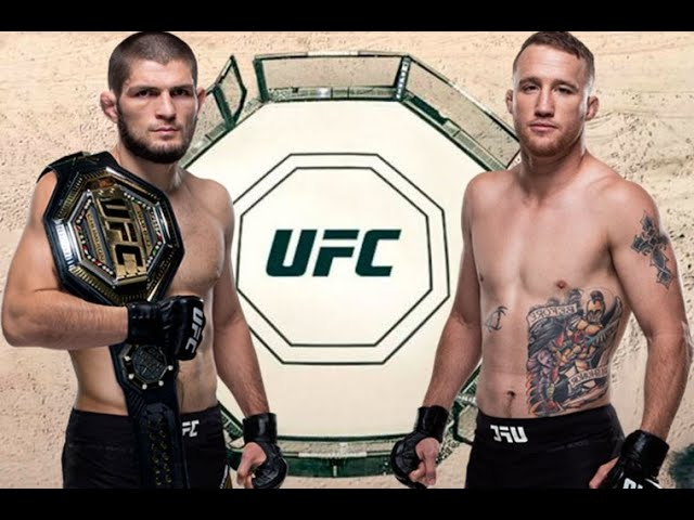 Khabib vs Gaethje officially announced for UFC 255 on Oct 24th