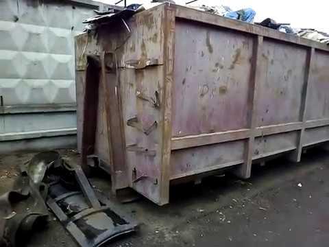 Продам рефконтейнер 20 тон б-у Одесса. - YouTube