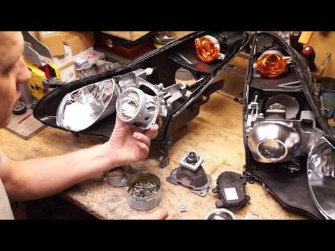 Как не нарваться на большие проблемы при ремонте фар Infinity EX25/35. Спасаем машинку от рукожопов.