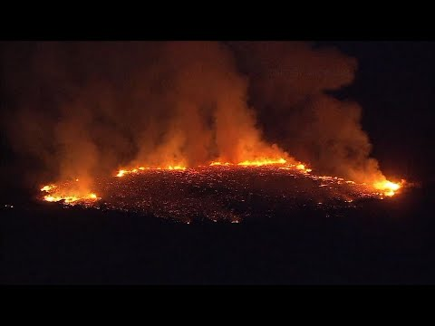 40-Acre Fire Burning South of Phoenix