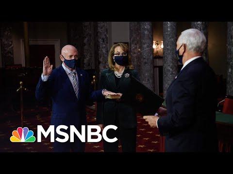 Mark Kelly Sworn In As U.S. Senator After Flipping Arizona Seat | Katy Tur | MSNBC