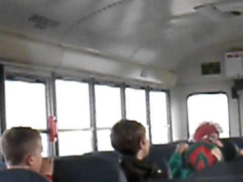 School Bus Mullet Reeder Elementary School